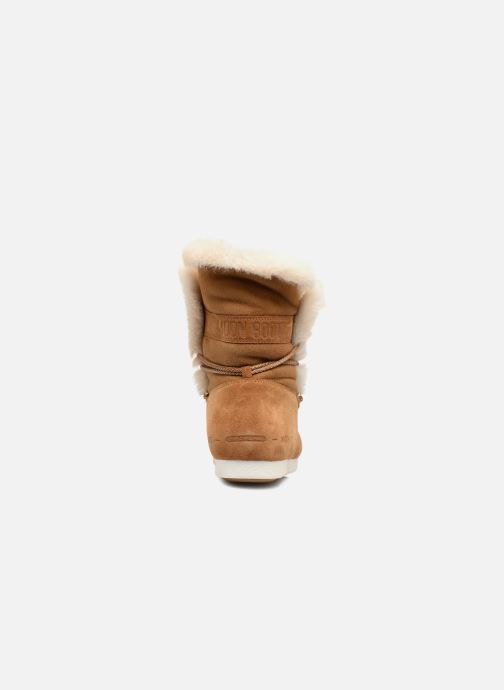Zapatillas de deporte Moon Boot Moon Boot Far Side HIigh Shearling Marrón vista lateral derecha